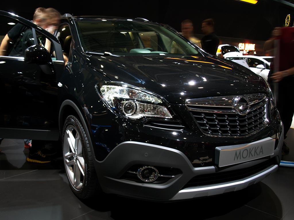 Opel Mokka Schwarz